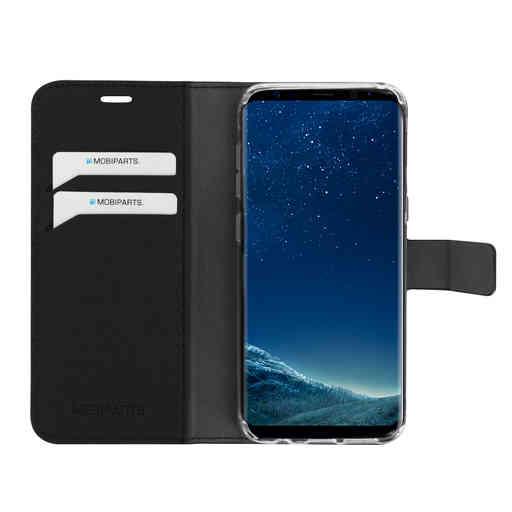 Mobiparts Saffiano Wallet Case Samsung Galaxy S8 Black