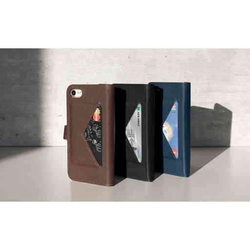 Mobiparts Classic Wallet Case Samsung Galaxy S8 Plus Brown