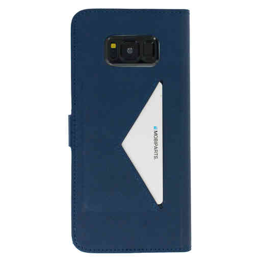 Mobiparts Classic Wallet Case Samsung Galaxy S8 Plus Blue