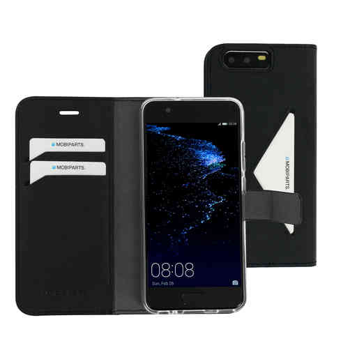Mobiparts Classic Wallet Case Huawei P10 Black