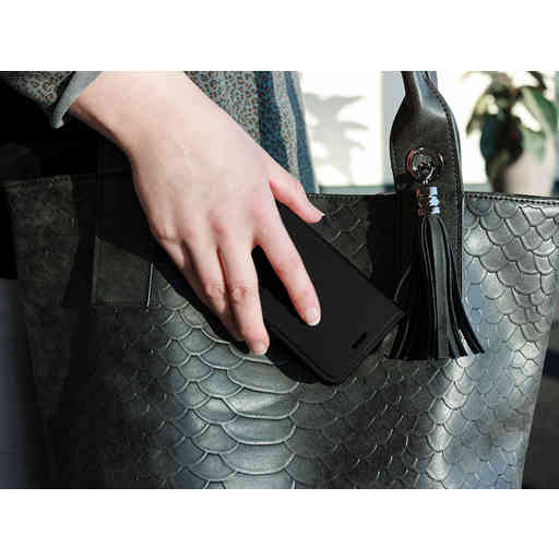 Mobiparts Saffiano Wallet Case Huawei P10 Black