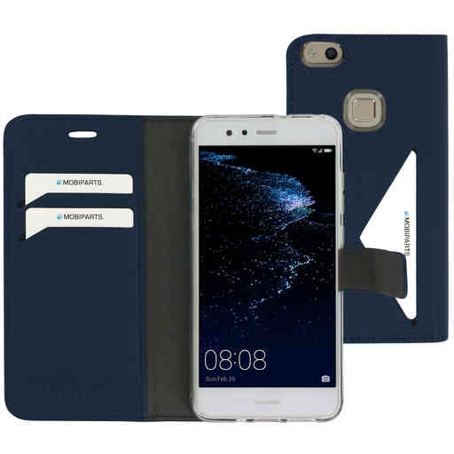 Mobiparts Classic Wallet Case Huawei P10 Lite Blue