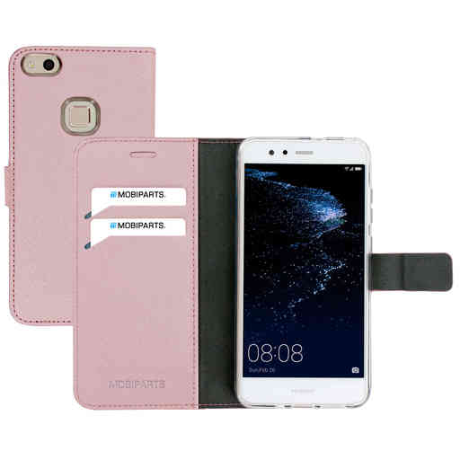 Mobiparts Saffiano Wallet Case Huawei P10 Lite Pink