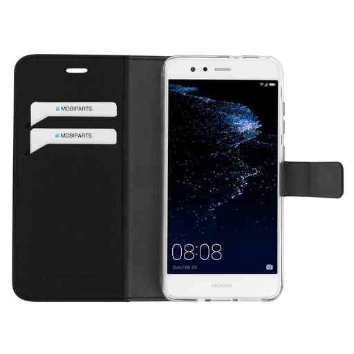 Mobiparts Saffiano Wallet Case Huawei P10 Lite Black