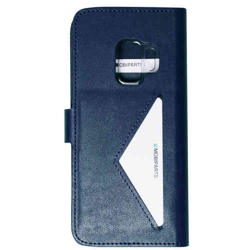 Mobiparts Classic Wallet Case Samsung Galaxy S9 Blue