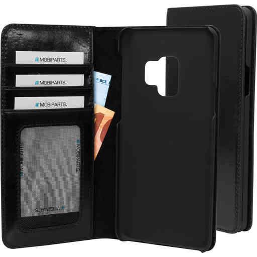 Mobiparts Excellent Wallet Case Samsung Galaxy S9 Jade Black