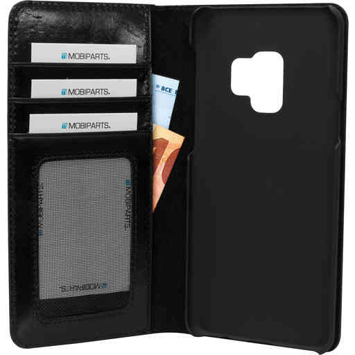 Mobiparts Excellent Wallet Case Samsung Galaxy S9 Jade Black