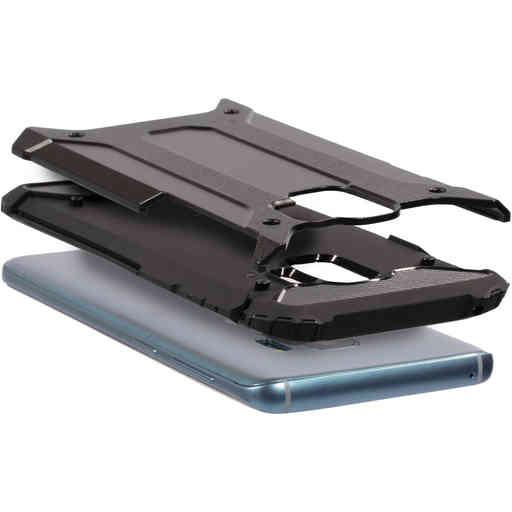 Mobiparts Rugged Shield Case Samsung Galaxy S9 Black