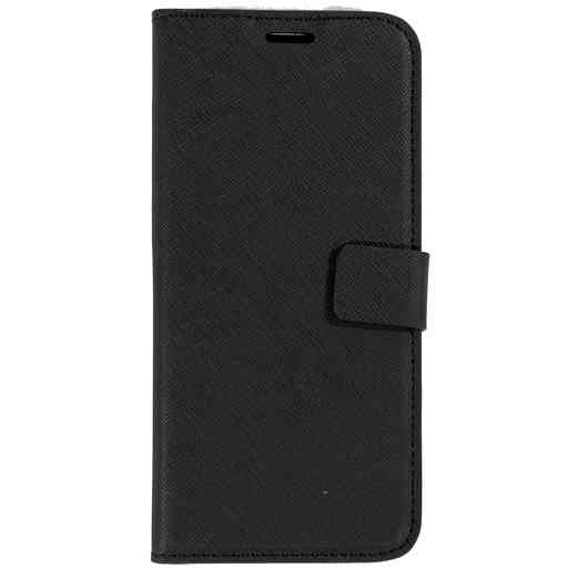 Mobiparts Saffiano Wallet Case Samsung Galaxy S9 Black