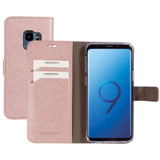 Mobiparts Saffiano Wallet Case Samsung Galaxy S9 Pink