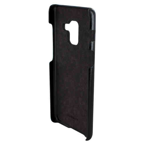 Mobiparts Excellent Backcover Samsung Galaxy A8 (2018) Jade Black