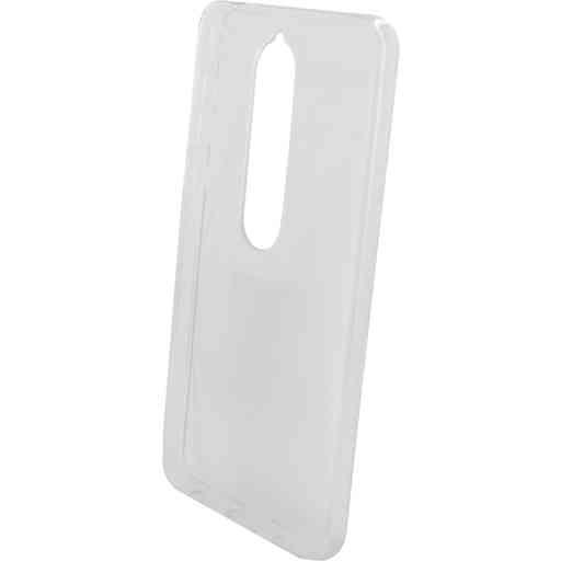 Mobiparts Classic TPU Case Nokia 6 (2018) Transparent