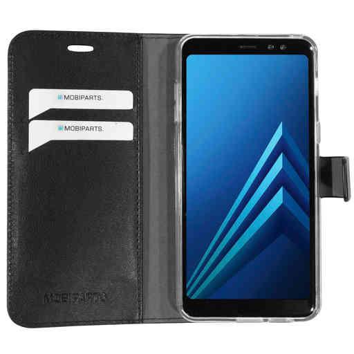 Mobiparts Classic Wallet Case Samsung Galaxy A8 (2018) Black