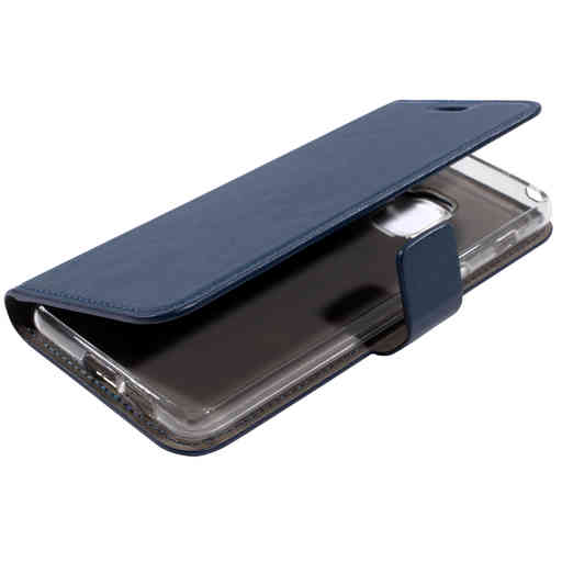 Mobiparts Classic Wallet Case Samsung Galaxy A8 (2018) Blue