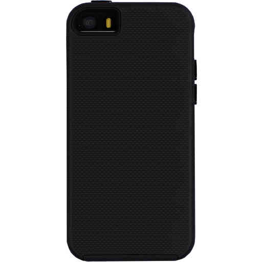 Mobiparts Rugged Tough Grip Case Apple iPhone 5/5S/SE Black