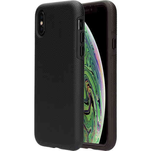 Mobiparts Rugged Tough Grip Case Apple iPhone X/XS Black