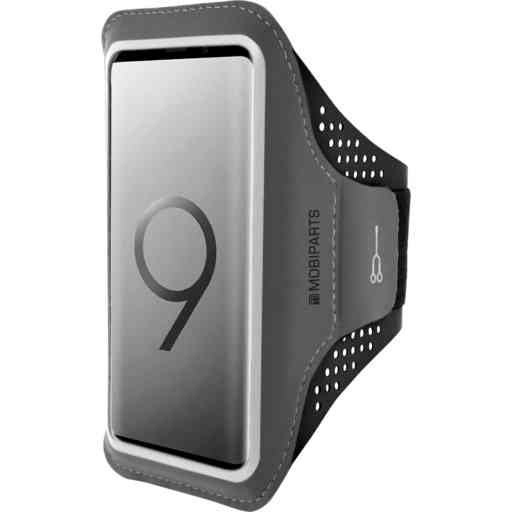 Mobiparts Comfort Fit Sport Armband Samsung Galaxy S9 Black
