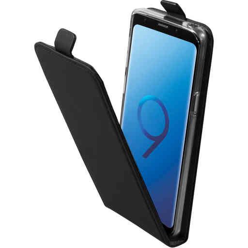 Mobiparts Premium Flip TPU Case Samsung Galaxy S9 Black