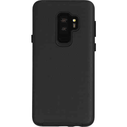 Mobiparts Rugged Tough Grip Case Samsung Galaxy S9 Plus Black