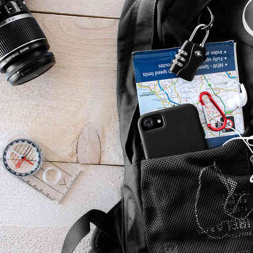Mobiparts Rugged Tough Grip Case Samsung Galaxy S9 Plus Black