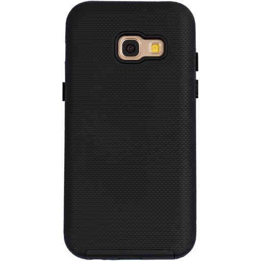 Mobiparts Rugged Tough Grip Case Samsung Galaxy A3 (2017) Black