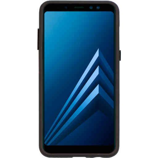 Mobiparts Rugged Tough Grip Case Samsung Galaxy A8 (2018) Black