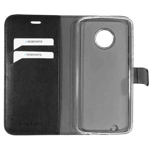 Mobiparts Classic Wallet Case Motorola Moto G6 Black