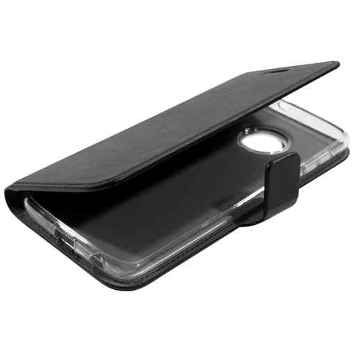 Mobiparts Classic Wallet Case Motorola Moto G6 Plus Black