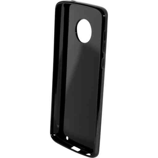Mobiparts Classic TPU Case Motorola Moto G6 Plus Black