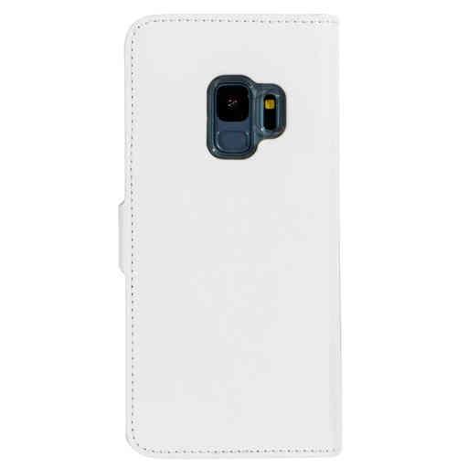 Mobiparts Saffiano Wallet Case Samsung Galaxy S9 White