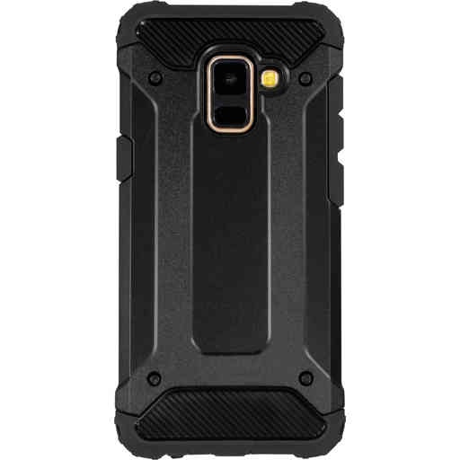 Mobiparts Rugged Shield Case Samsung Galaxy A8 (2018) Black