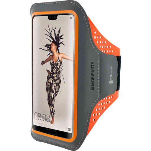 Mobiparts Comfort Fit Sport Armband Huawei P20 Neon Orange