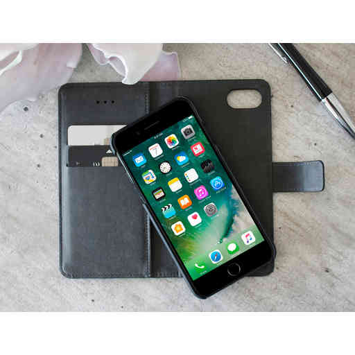 Mobiparts 2 in 1 Premium Wallet Case Huawei P20 Lite Black