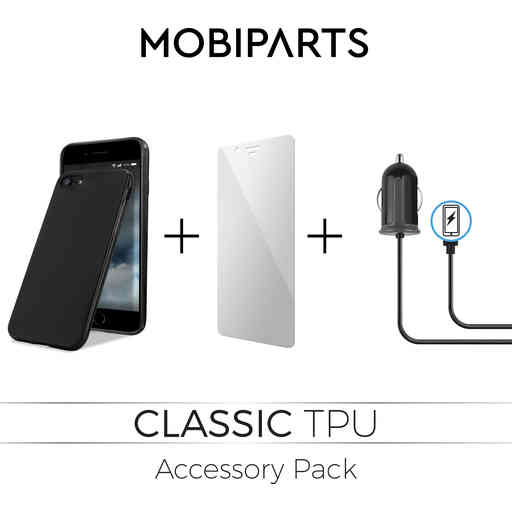 Mobiparts Essential TPU Accessory Pack V3 Samsung Galaxy A8 (2018)