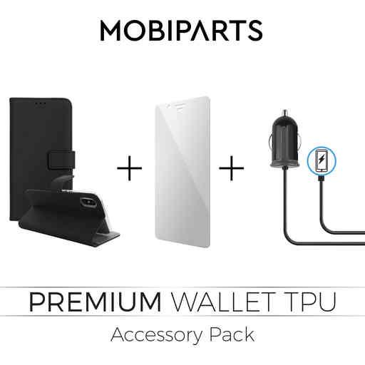 Mobiparts Premium Wallet TPU Accessory Pack V3 Samsung Galaxy A8 (2018)