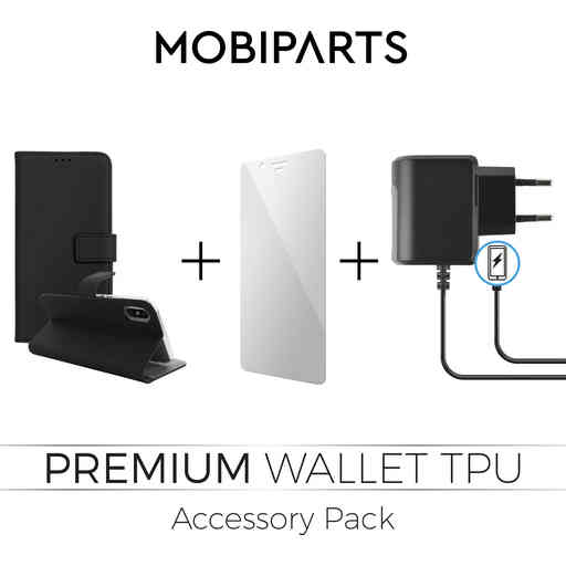 Mobiparts Premium Wallet TPU Accessory Pack V4 Samsung Galaxy A8 (2018)