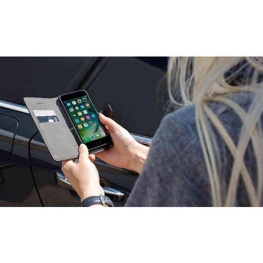 Mobiparts 2 in 1 Premium Wallet Case Samsung Galaxy A6 (2018) Black