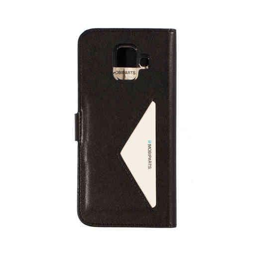 Mobiparts Classic Wallet Case Samsung Galaxy A6 (2018) Black