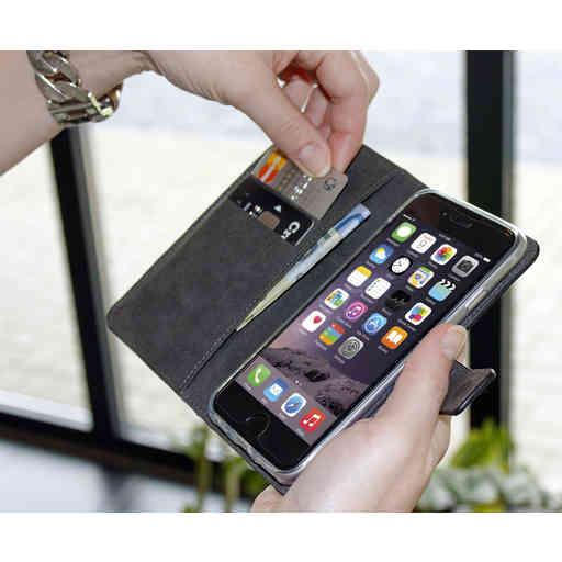 Mobiparts Premium Wallet TPU Case Samsung Galaxy A6 (2018) Black
