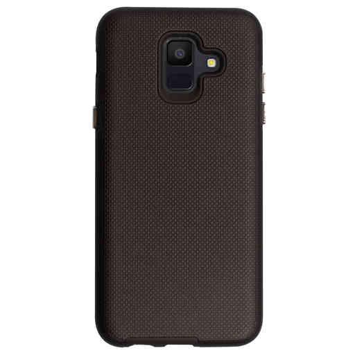 Mobiparts Rugged Tough Grip Case Samsung Galaxy A6 (2018) Black
