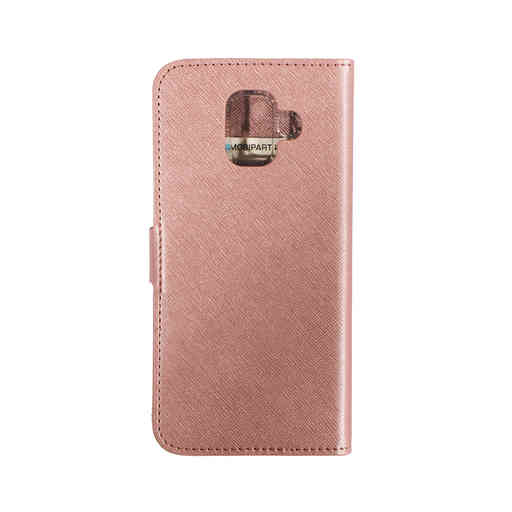 Mobiparts Saffiano Wallet Case Samsung Galaxy A6 (2018) Pink