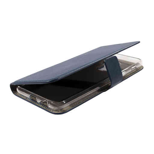 Mobiparts Classic Wallet Case Samsung Galaxy A6 Plus (2018) Blue