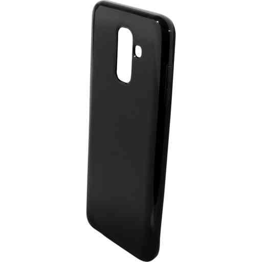 Mobiparts Classic TPU Case Samsung Galaxy A6 Plus (2018) Black
