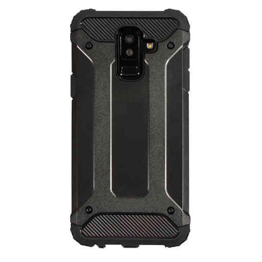Mobiparts Rugged Shield Case Samsung Galaxy A6 Plus (2018) Black