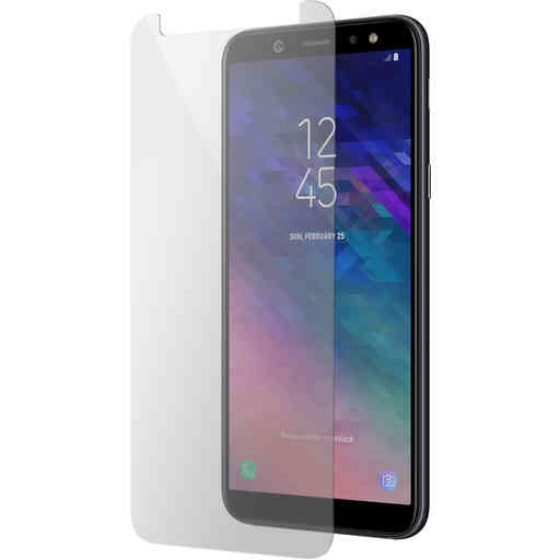 Mobiparts Regular Tempered Glass Samsung Galaxy A6 Plus (2018)