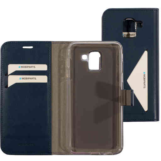 Mobiparts Classic Wallet Case Samsung Galaxy J6 (2018) Blue