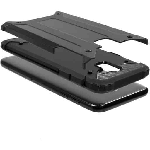 Mobiparts Rugged Shield Case Samsung Galaxy J6 (2018) Black