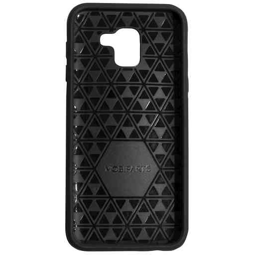Mobiparts Rugged Tough Grip Case Samsung Galaxy J6 (2018) Black