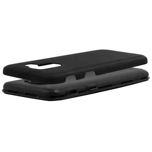 Mobiparts Rugged Tough Grip Case Samsung Galaxy J6 (2018) Black