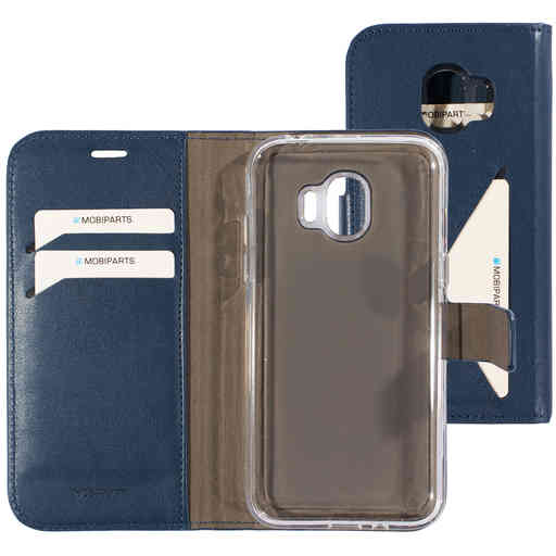 Mobiparts Classic Wallet Case Samsung Galaxy J2 Pro (2018) Blue